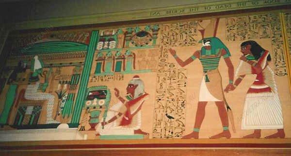 фото древняя египетская роспись