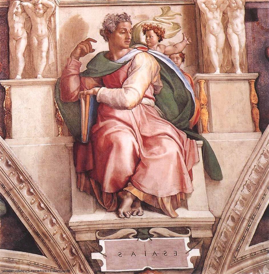 фото Настенная роспись Микеланджело Буаноротти
