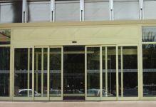 фото алюминиевые телескопические двери