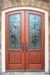 фото витражи входная дверь