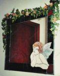 фото ангел на зеркале