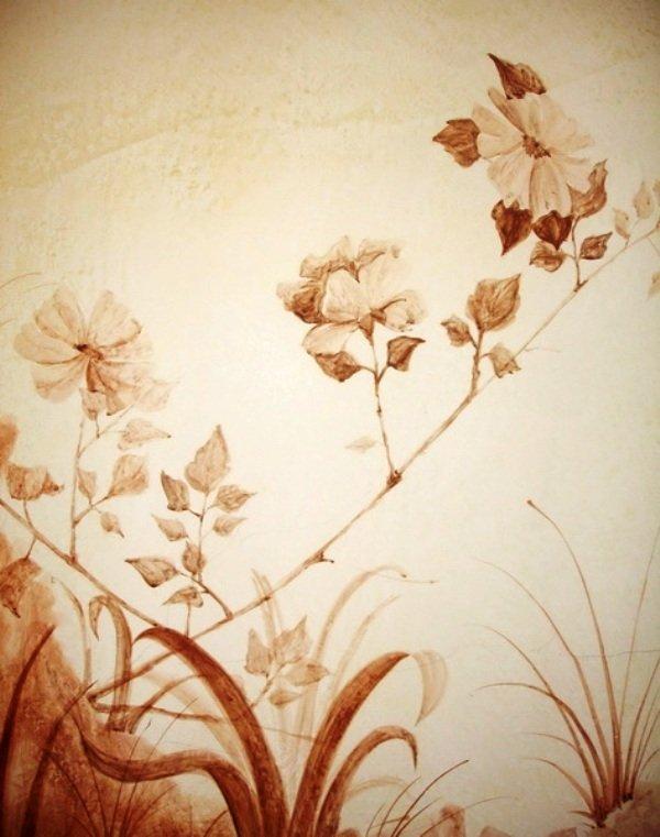 Как правильно подготовить стену для росписи