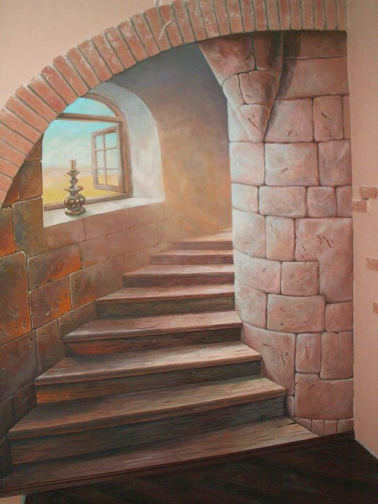 Роспись стен и объемная роспись