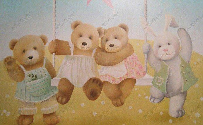 Как раскрасить стены в детской советы
