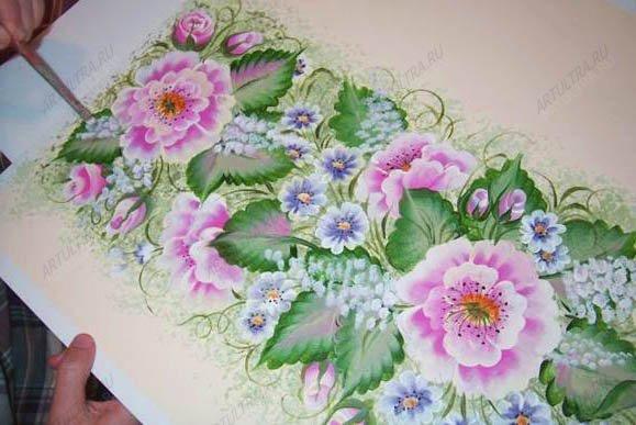 Нарисовать на стене своими руками