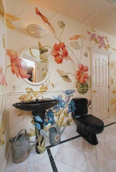 ванная рисунок: