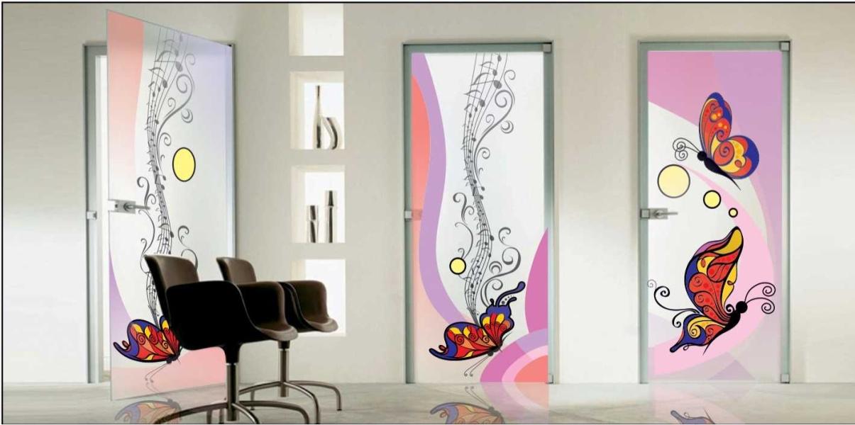 Оформить Витраж красками на стекле своими руками