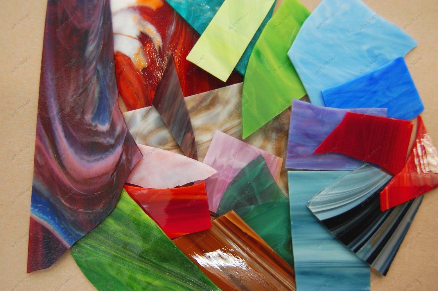 Купить разноцветное стекло