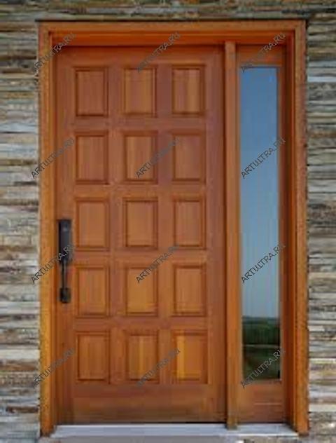 стальные двери уличные в широкий проем