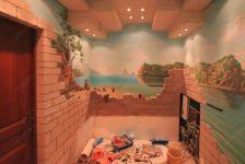 фото роспись ванной комнаты