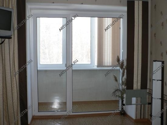Перегородка на балконе фото.