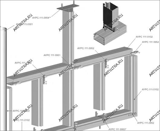 Конструкции из алюминиевого профиля своими руками