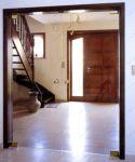 фото межкомнатные минималистичные стеклянные двери