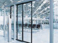 фото двойные раздвижные подвесные автоматические межкомнатные двери