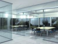 фото прозрачные раздвижные автоматические межкомнатные двери