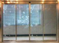 фото раздвижные двойные автоматические межкомнатные двери