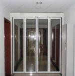 фото складные двойные автоматические межкомнатные двери