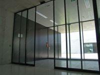 фото высокие раздвижные автоматические межкомнатные двери