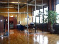 фото прозрачные двустворчатые стеклянные двери
