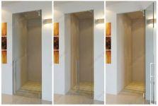 фото прозрачные цельностеклянные двери