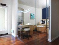 фото раздвижные прозрачные цельностеклянные двери