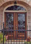 фото деревянные двери со стеклом для офиса