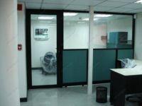 фото маятниковые двери с прозрачным стеклом