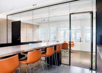 фото прозрачные стеклянные межкомнатные стеклянные двери