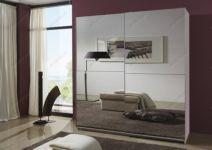 фото 4-х элементные зеркальные двери для шкафа-купе