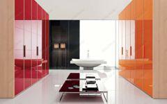 фото раздельные зеркальные различной расцветки двери для шкафа-купе