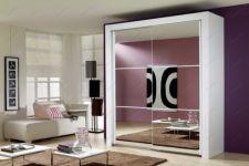 фото зеркальные 6-ти элементные двери для шкафа-купе