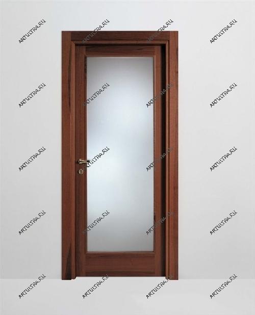 деревянные стеклянные двери