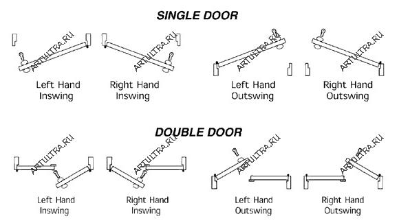 Схемы вариантов конструкции