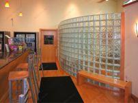 фото перегородки из стеклоблоков