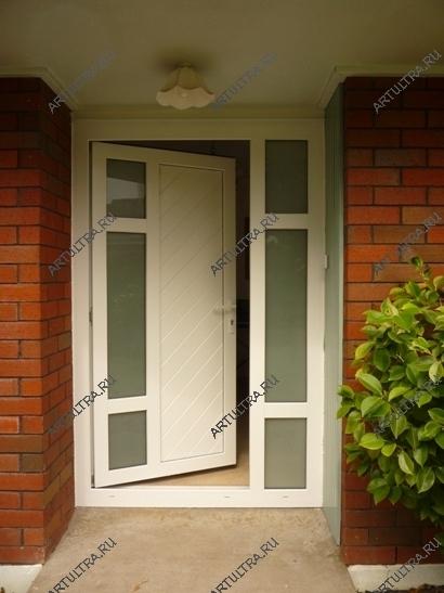 Входные пластиковые двери дизайн