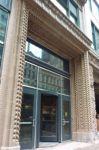 фото дизайн одностворчатых входных групп торгового центра