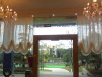 фото дизайн стеклянных входных групп главного входа профилактория