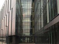 фото дизайн стеклянных входных групп промышленного комбината