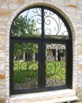фото кованые металлические двери в зоологический сад
