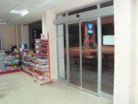 фото автоматическая алюминиевая входная группа магазина