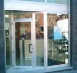 фото металическая входная группа магазина