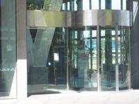 фото полукруглая входная группа офиса