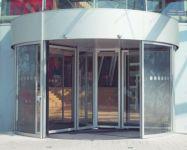 фото полукруглая входная группа торгового центра