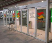 фото наружные раздвижные пластиковые двери