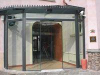 фото наружные раздвижные стеклянные двери