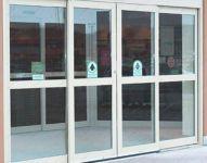 фото теплые раздвижные алюминиевые двери