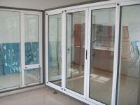 фото теплые раздвижные металлопластиковые двери