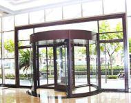 фото автоматические комбинированые двери