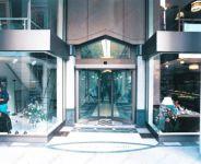 фото автоматические маятниковые двери
