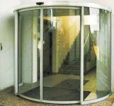 фото автоматические полукруглые двери